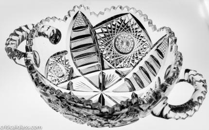 Unusual Libbey Senora Handled Bowl