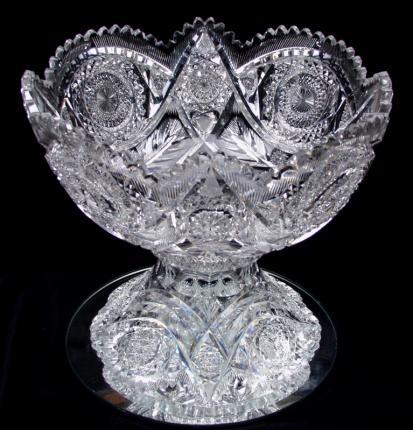 Elegant Libbey Diana Punchbowl – SOLD