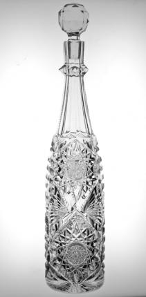 Unusual Tall Thin Libbey Senora Decanter – SOLD