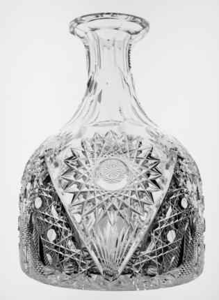Unusual Hawkes Chrysanthemum Ship's Carafe