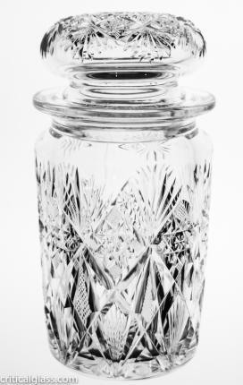 Dorflinger Marlboro Cigarette Jar- SOLD