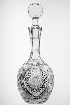 Extremely Rare Libbey Puritana Cordial Decanter