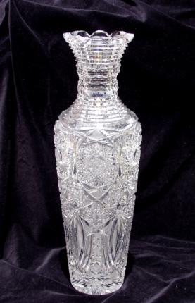 Huge High Shouldered Unger Bros Vase – SOLD