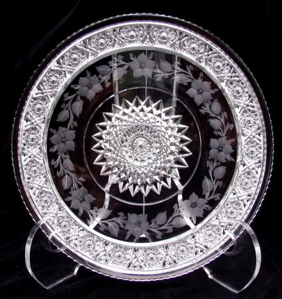 Tuthill Rosaceae Sandwich Plate – SOLD