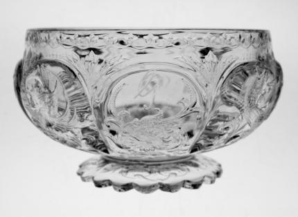 Rare William Fritschie Engraved Dragon Finger Bowl – SOLD