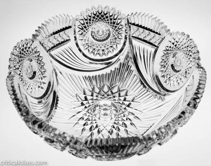 Fantastic and Highly-Desirable Bergen Cornucopia Bowl