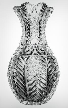 Top-Quality Ohio Fern Bowling Pin Vase
