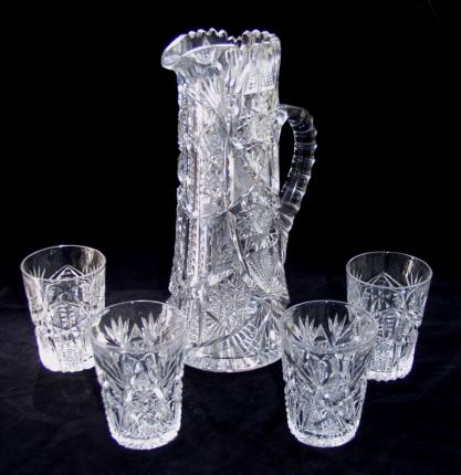 Fabulous Libbey Corona Water Set