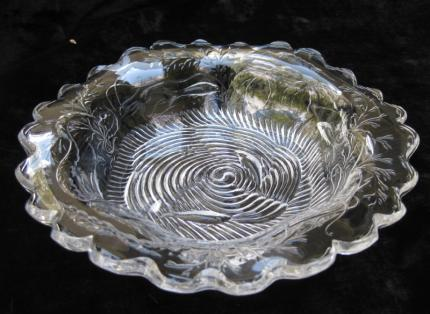 Very Rare Sinclaire Engraved Fish Bowl – SOLD