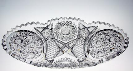 Unusual Persian Medallion Celery Dish