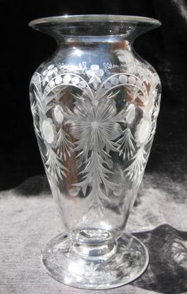 Elegant Tuthill Footed Vase – SOLD