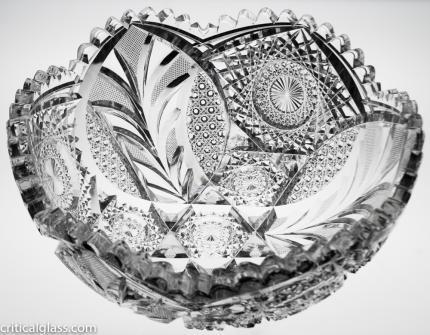 Spectacular Egginton Cascading Tusk Bowl 2417