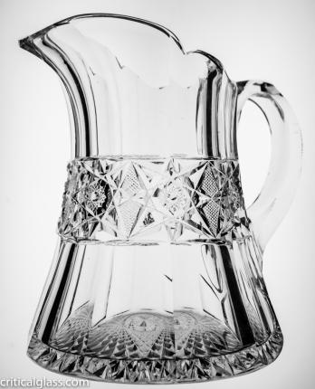 Gorgeous, Heavy Dorflinger Pitcher – SOLD