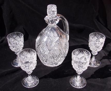 Rare Hawkes Devonshire Whiskey Set – SOLD