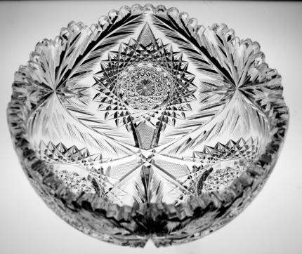American Cut Glass Anderson Mary Bowl – SOLD