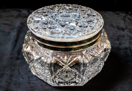 Extra Large C.F. Monroe Mirrored Jewelery Box