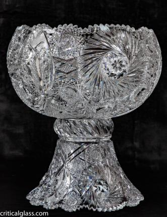 Exceptional, Museum-Quality Clark Angelus Punch Bowl