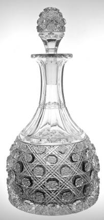 Fantastic Mt. Washington Triple Miter Decanter – SOLD