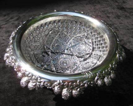 Exceptional J. Hoare Tiffany Sterling Rimmed Bowl – SOLD