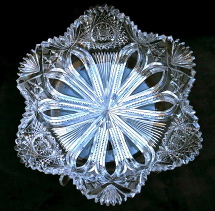 Enormous Straus Ducal Star Shaped Bowl