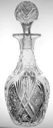 Masterpiece Libbey Imperial Decanter Pattern-Cut Stopper – SOLD