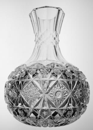 Extremely Rare Libbey Star Carafe – ON HOLD