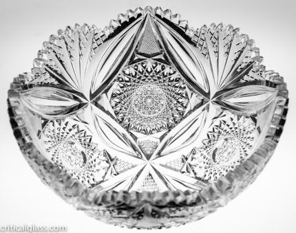 Very Unusual Scalloped Tusks Bowl