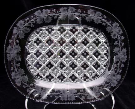 Extremely Rare Sinclaire Snowflake and Holly Tray – SOLD