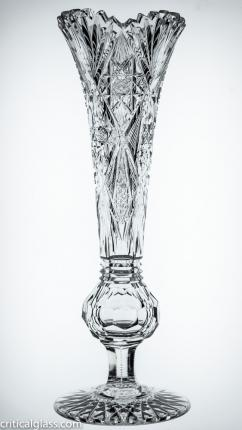 High Quality Footed Vase Attributed to J. Hoare