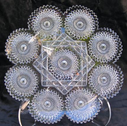 Impeccable, Radiant Meriden Star Platter