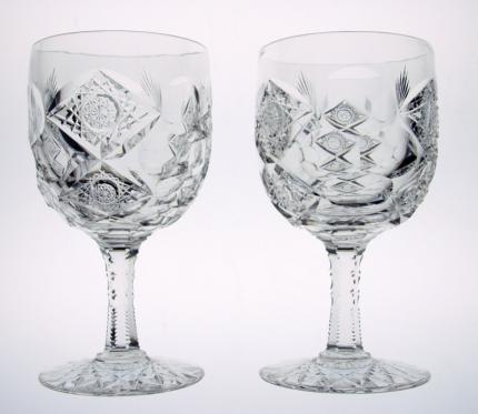 Impossible to Find Hawkes Queens Goblets (6) – SOLD
