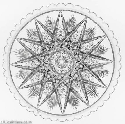 Rare Hawkes Star 7″ Plate