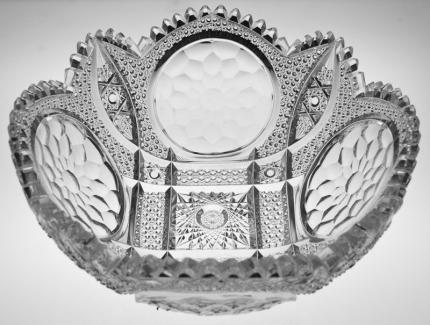 Fantastic Meriden Honeycomb Medallion Bowl – SOLD
