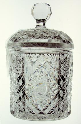 Nice Marmalade Jar in Clark's Mistletoe Pattern – SOLD