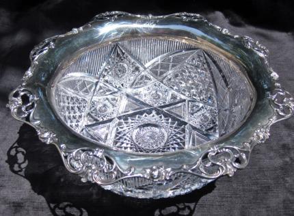 Regal Hoare Gorham Silver Rimmed Bowl – SOLD