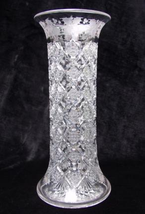Highly Desirable Snowflake & Holly Vase – SOLD