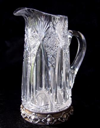 Rare Hawkes Gorham Silver Footed Pitcher – SOLD