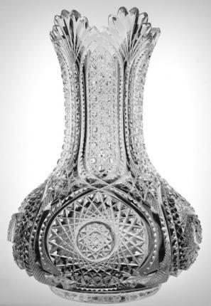 World Class Dorflinger Rich Cut Vase – SOLD