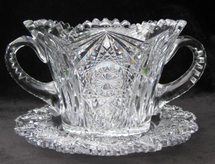 Seldom Seen J. Hoare Monarch Ice Bucket and Under Plate – SOLD