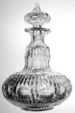 Awesome Bergen Genie Bottle Florida Decanter – SOLD
