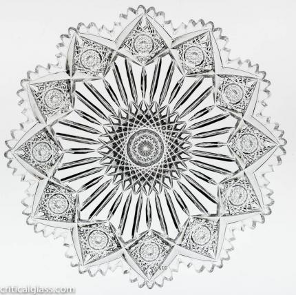 Gorgeous Sinclaire Star & Pillar 7″ Plate