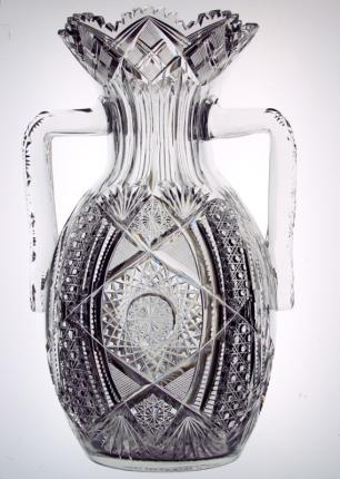 Incredible J. Hoare Handled Vase – SOLD