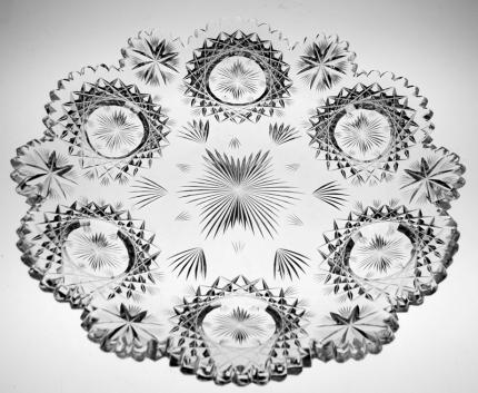 Elegant Hawkes North Star Plate – SOLD