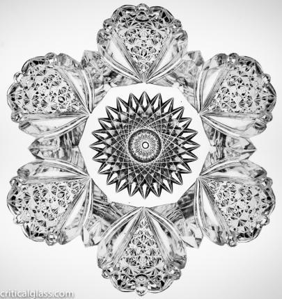 Gorgeous Persian Blowout Snowflake Bowl