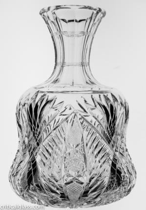 Highly Detailed Dorflinger Brilliant Carafe
