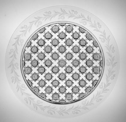 Meticulous Sinclaire Assyrian & Border Plate