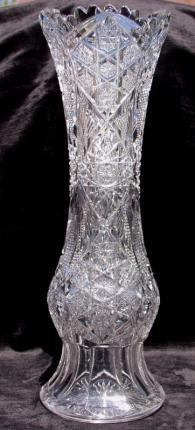 Awesome Dorflinger Inverness Vase – SOLD