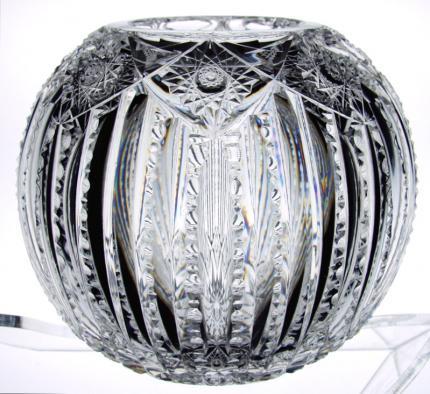 Magnificent Quality Dorflinger Victor Roseglobe – SOLD
