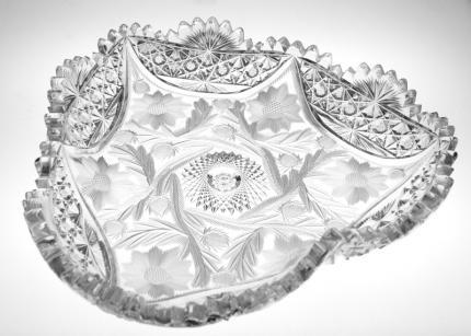 William C. Anderson Lillian-Travis 3-Lobed Bowl – SOLD