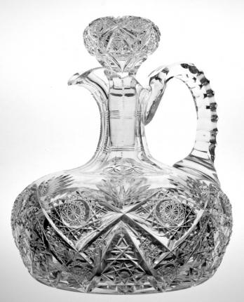 Stunning Hawkes Kensington Ships Decanter w/ Pattern Cut Stopper – SOLD